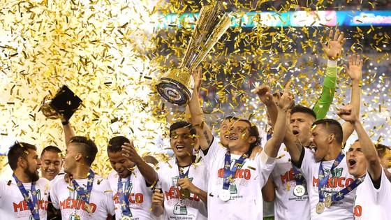 Với 10 lần vô địch, Mexico đang là đội bóng thống trị tại Gold Cup.