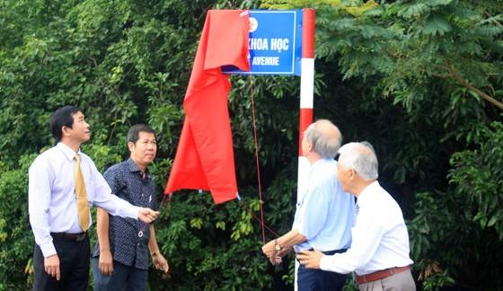 Giáo sư Gerardus 't Hooft đặt tên đường khoa học đầu tiên tại Việt Nam ảnh 1