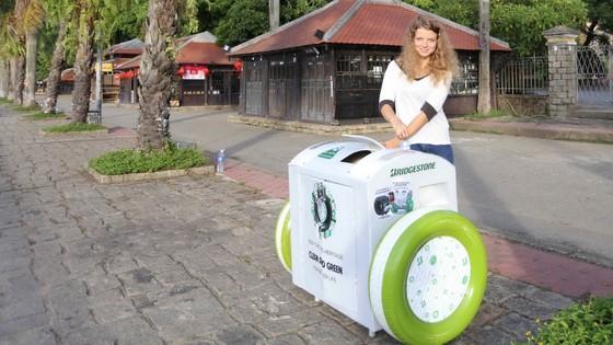 Huế có thùng rác thông minh