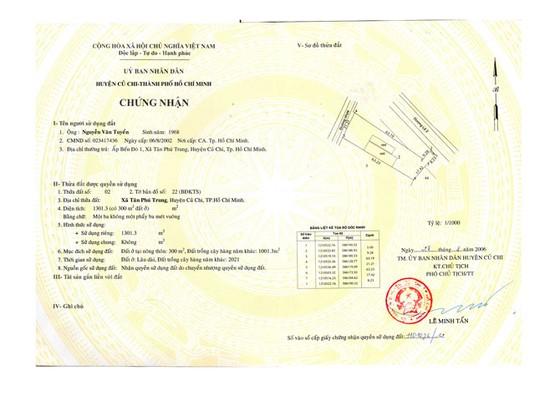 Công ty bất động sản Anh Luân: Chuyển nhượng đất vàng ảnh 1