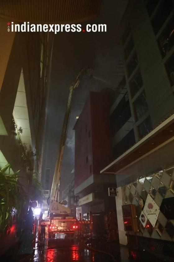 Ấn Độ: Cháy trung tâm thương mại, ít nhất 14 người chết, 16 người bị thương ảnh 2