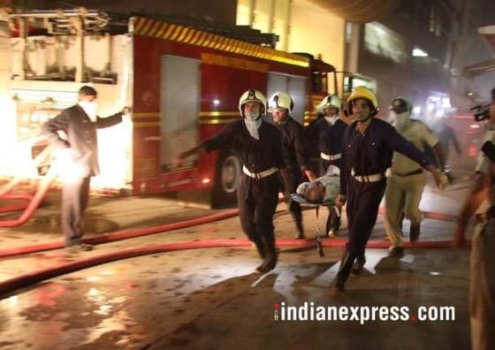 Ấn Độ: Cháy trung tâm thương mại, ít nhất 14 người chết, 16 người bị thương ảnh 5