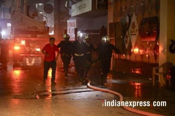 Ấn Độ: Cháy trung tâm thương mại, ít nhất 14 người chết, 16 người bị thương ảnh 9