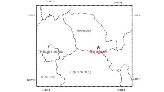 Điện Biên lại xảy ra động đất lần thứ 2 trong năm 2018 ảnh 1