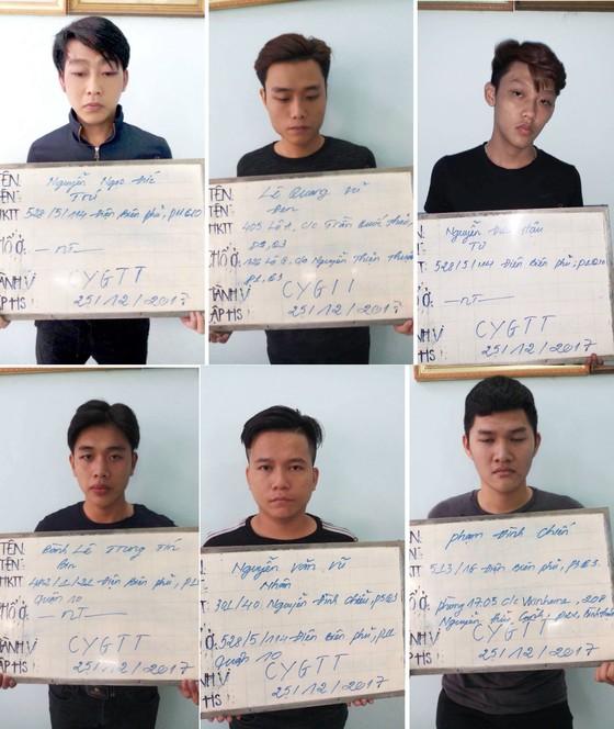 Bắt nhóm thanh niên xông vào trụ sở Công an TPHCM đánh con nợ ảnh 1