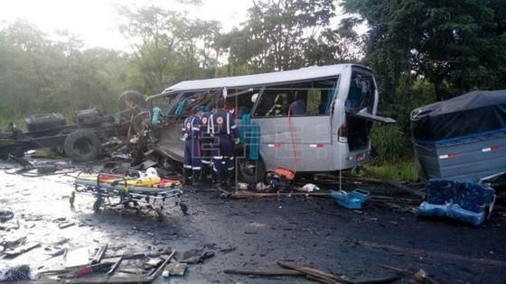 Brazil: Tai nạn giao thông liên hoàn, 52 người thương vong ảnh 1