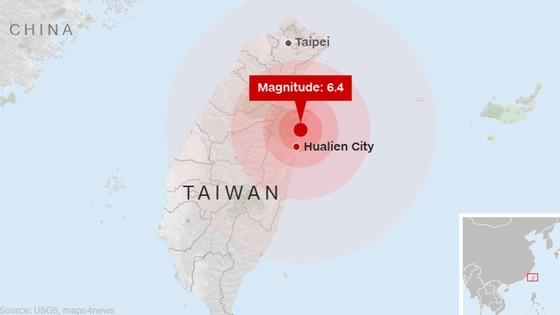Động đất 6,5 độ Richter tại Đài Loan (Trung Quốc): Lực lượng cứu hộ chạy đua với thời gian tìm kiếm người mất tích ảnh 2
