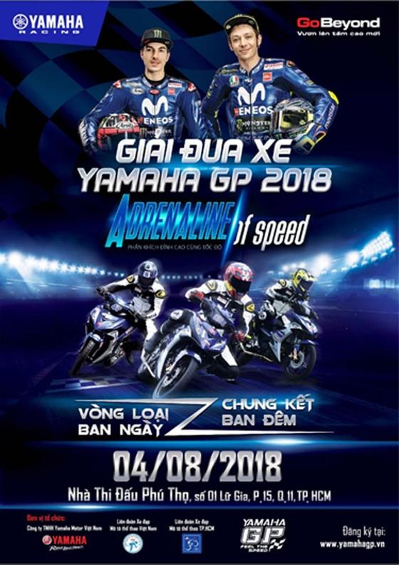 Giải đua xe Yamaha GP kết hợp đại hội Exciter Festival 2018 tại TPHCM ảnh 1