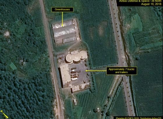 """38 North: Triều Tiên """"dường như"""" đã dừng tháo dỡ bãi thử nghiệm động cơ tên lửa Sohae ảnh 4"""