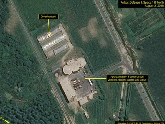 """38 North: Triều Tiên """"dường như"""" đã dừng tháo dỡ bãi thử nghiệm động cơ tên lửa Sohae ảnh 3"""