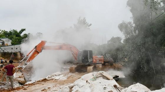 Khắc phục hậu quả sự cố vỡ đập bãi thải tại Bảo Thắng, Lào Cai ảnh 2