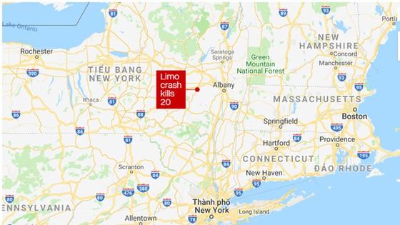 Tai nạn ô tô nghiêm trọng tại New York, 20 người thiệt mạng ảnh 1
