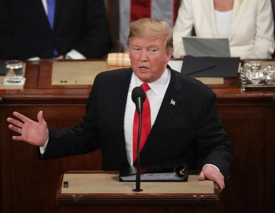 Tổng thống Mỹ đọc Thông điệp Liên Bang năm 2019 ảnh 2