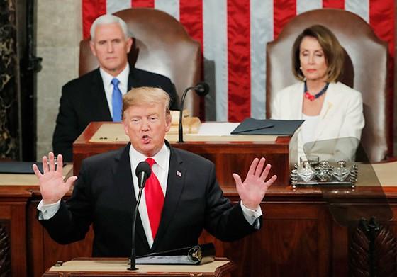 Tổng thống Mỹ đọc Thông điệp Liên Bang năm 2019 ảnh 4