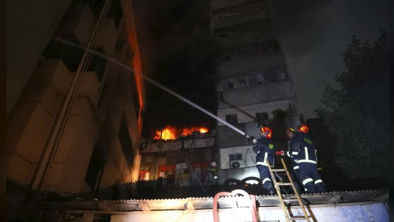 Ít nhất 81 người thiệt mạng trong vụ cháy chung cư tại Bangladesh ảnh 4