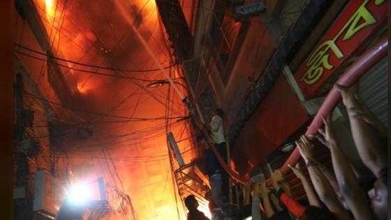 Ít nhất 81 người thiệt mạng trong vụ cháy chung cư tại Bangladesh ảnh 8