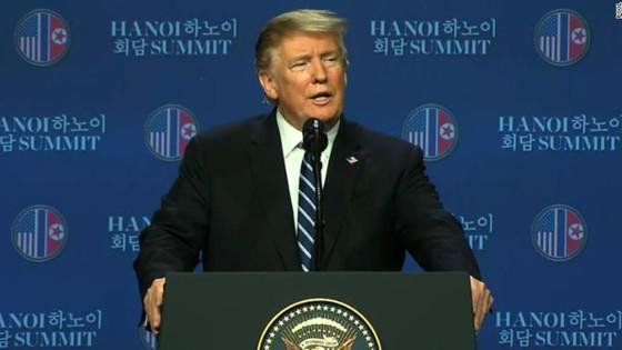 Hội nghị Thượng đỉnh Mỹ - Triều Tiên lần 2: Tổng thống Mỹ cho biết khúc mắc ở vấn đề trừng phạt ảnh 1