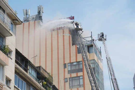 Vụ cháy tại Hàng Dương Quán, quận 1 là do hàn xì ảnh 5