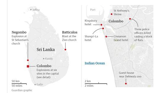 Gần 800 người thương vong trong các vụ nổ tại Sri Lanka ảnh 2