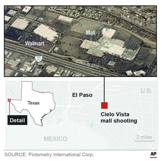 Xả súng tại Texas, ít nhất 46 người thương vong ảnh 1