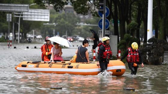 Bão Lekima tiếp tục hoành hành tại Trung Quốc, số người chết tăng ảnh 5