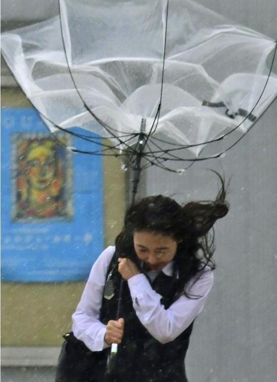 Siêu bão Faxai đổ bộ Nhật Bản, giao thông nhiều nơi tê liệt ảnh 4