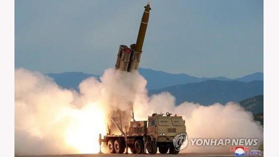 Triều Tiên phóng 2 vật thể chưa xác định ra biển Nhật Bản ảnh 1