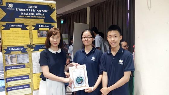 Lần đầu tham dự cuộc thi nghiên cứu khoa học quốc tế: 2 nhóm học sinh Việt xuất sắc mang về giải Bạc và giải Đồng  ảnh 2