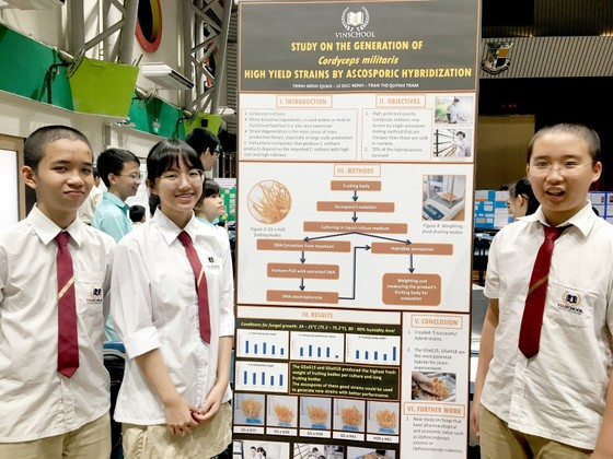 Lần đầu tham dự cuộc thi nghiên cứu khoa học quốc tế: 2 nhóm học sinh Việt xuất sắc mang về giải Bạc và giải Đồng  ảnh 5