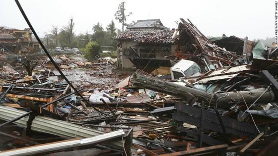Nhật Bản tan hoang sau siêu bão Hagibis ảnh 4