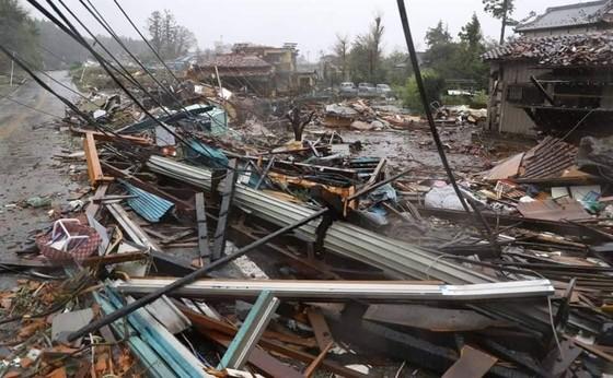 Nhật Bản tan hoang sau siêu bão Hagibis ảnh 21