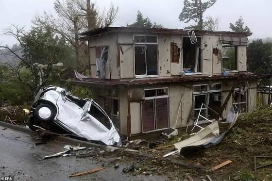 Nhật Bản tan hoang sau siêu bão Hagibis ảnh 17