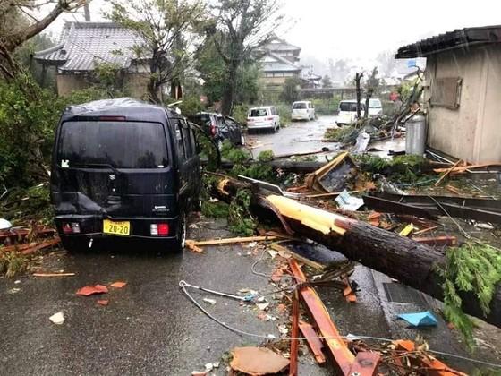 Nhật Bản tan hoang sau siêu bão Hagibis ảnh 19