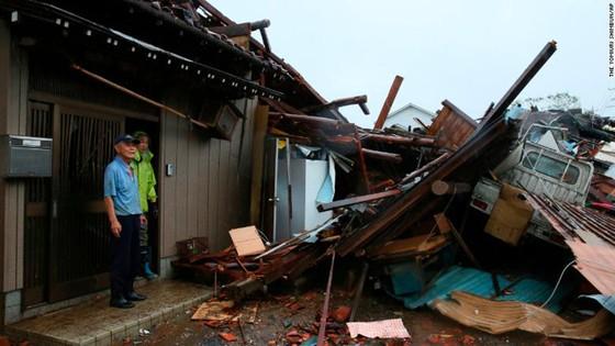 Nhật Bản tan hoang sau siêu bão Hagibis ảnh 6