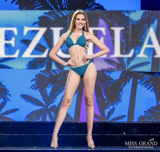 Người đẹp Venezuela đăng quang Hoa hậu Hòa bình Quốc tế, đại diện Việt Nam dừng ở Top 10 ảnh 4