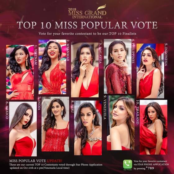 Người đẹp Venezuela đăng quang Hoa hậu Hòa bình Quốc tế, đại diện Việt Nam dừng ở Top 10 ảnh 7