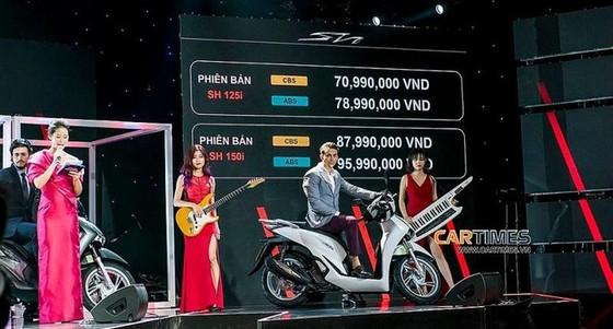 Honda Việt Nam ra mắt SH 125i/150i hoàn toàn mới có kết nối blutooth ảnh 2