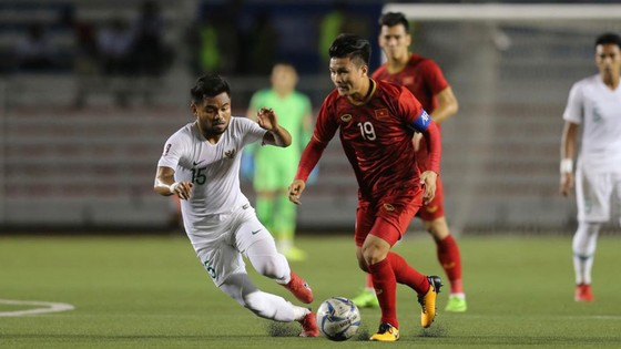 U22 Việt Nam giành chiến thắng thuyết phục trước U22 Indonesia để giành ngôi đầu bảng. Ảnh: DŨNG PHƯƠNG
