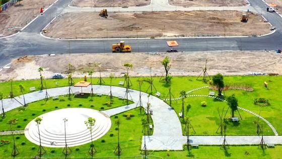 Golden Future City chuẩn bị bàn giao nền cho khách hàng ảnh 1