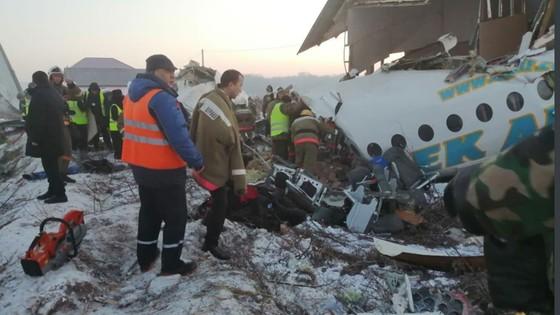 Rơi máy bay tại Kazakhstan, ít nhất 14 người thiệt mạng ảnh 4