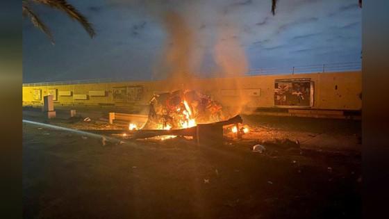 Mỹ tấn công rocket nhằm vào sân bay quốc tế Baghdad, sát hại chỉ huy đặc nhiệm Iran tại Iraq ảnh 2