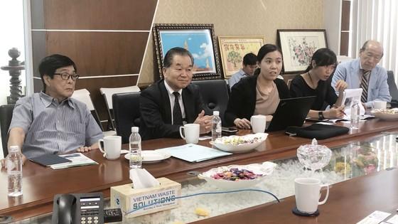 Doanh Nghiệp Nhật gặp gỡ VWS chào bán máy xử lý rác thải ảnh 1