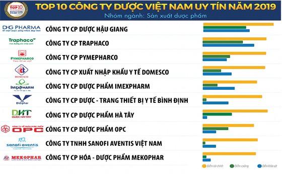 Tốp 10 Công ty dược uy tín và Tốp 500 Doanh nghiệp lớn nhất Việt Nam năm 2019 ảnh 1