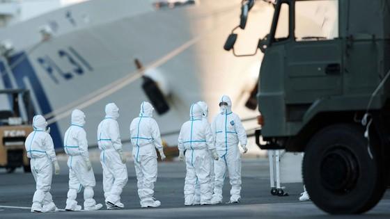 Nhật Bản xác nhận thêm 65 ca nhiễm virus Corona trên tàu Diamond Princess ảnh 1