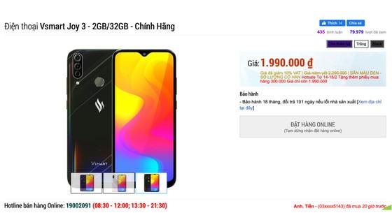 Thị trường smartphone Việt phân khúc 3 triệu đồng tăng nhiệt ảnh 1