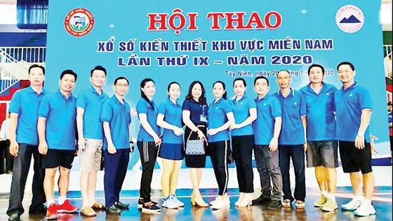 Xổ số kiến thiết Hậu Giang tham dự Hội thao xổ số kiến thiết khu vực miền Nam lần thứ IX - năm 2020 tại tỉnh Tây Ninh ảnh 1