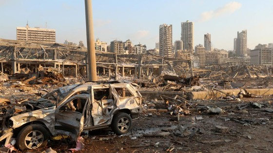 Nổ ở Beirut, hàng ngàn người thương vong ảnh 17