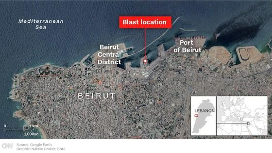 Nổ ở Beirut, hàng ngàn người thương vong ảnh 1