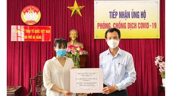 Nghệ sĩ tiếp sức Đà Nẵng chống dịch ảnh 1