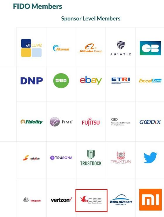 Vingroup gia nhập liên minh xác thực trực tuyến thế giới Fido Alliance ảnh 1